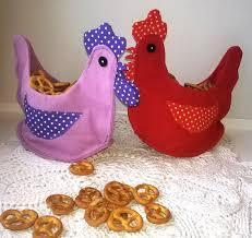 buy chicken basket textile pots on livemaster online shop