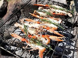 cuisiner les langoustines langoustines au barbecue