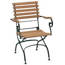 classic armchair flat slats black green