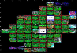 Map Wuest The Sierra Chest Quest For Glory 1 Ega So You Want To Be A
