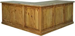 rustic l shaped desk rustic l shaped desk wood l shaped desk pine wood l shaped desk