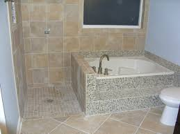 Tub Shower Combo Articles With Corner Tub Shower Combo Jacuzzi Tag Fascinating
