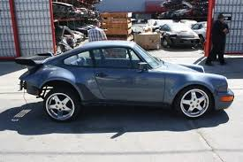porsche 911 930 for sale sell used porsche 911 930 1986 coupe chassis shell rolling