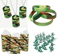 Camouflage Favors by Army Favors Boy S Camouflage Bracelets