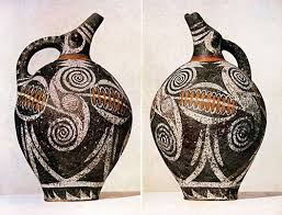 Minoan Octopus Vase The Minoans Sample Course 3 Face To Face