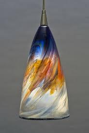 hand blown glass light globes art glass pendant lighting endearing blown glass pendant lighting