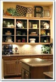 above kitchen cabinet decor ideas top of kitchen cabinet decor top cabinet decorating ideas best above