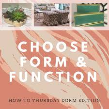how to thursday designing a well styled dorm room baker design