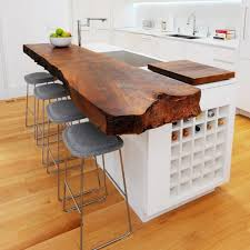 kitchen table ideas wood dining table attached to island ideas for small spaces