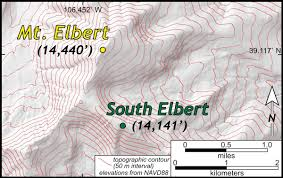 Colorado Elevation Map by Mount William U0026 Mary Really The William U0026 Mary Blogs