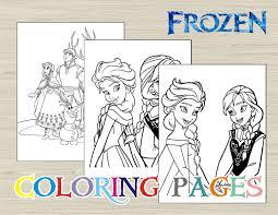 coloring frozen coloring pages printable free to print