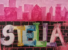 art in the big green room 5th grade graffiti cityscapes 2nd 4th