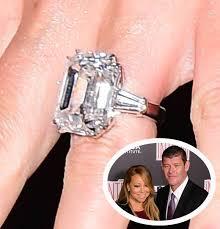 carey wedding ring carey s engagement ring rivals beyoncé s as the