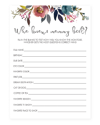 who knows best baby shower flowers baby shower printable who knows best littlesizzle