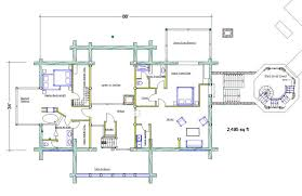 2500 Sq Foot House Plans The Bearcreek U2014 8 000 Sq Ft U2013 Taron Design Inc Log Home Plans