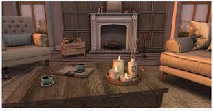 Second Life Marketplace LISP Jasmine Forest Whole Living Room Set - Whole living room sets