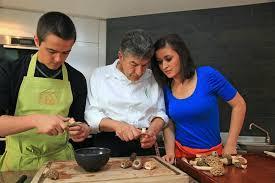 cours de cuisine avec un chef et si vous preniez un cours de cuisine avec le chef régis