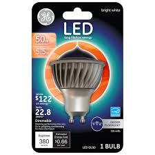 Led Gu10 Light Bulbs by Ge Lighting 62909 Energy Smart Led 4 5 Watt 20 Watt Replacement