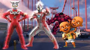 waptrick film kartun anak upin ipin super animasi transform into ultraman mebius and ultraman