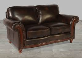 100 Percent Genuine Leather Sofa 100 Full Grain Leather Sofa With Nailheads