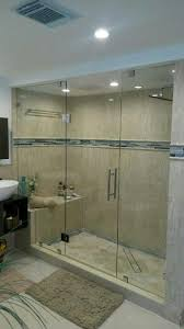 Frameless Shower Doors Miami Kendall Miami Dade Frameless Showers Door Install Mirror Vanit