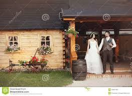 bride and groom country style wedding stock images image 35897484