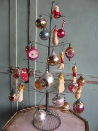 antique 1950s christmas 26 ornaments retro tree decorations