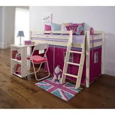 land of nod desk floral design cabin bed with desk u0026 tent noa u0026 nani