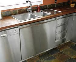 Metal Cabinets For Kitchen Awesome Stainless Steel Kitchen Cabinet With Backsplash Kitchen