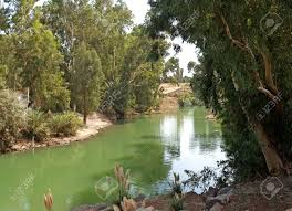 israel the river jordan a place of a baptism of jesus christ
