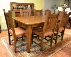 mission oak dining room chair hollywood thing