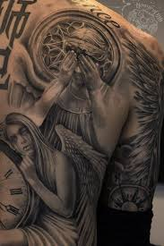 weeping angel grave tattoo pictures to pin on pinterest tattooskid