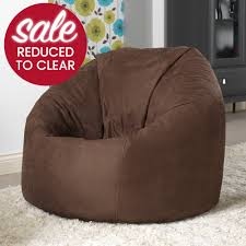 extra extra large xxl bean bag in faux suede beanbag bazaar