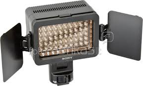 sony hvl le1 handycam camcorder light sony hvl le1 led video light ls continuous lighting