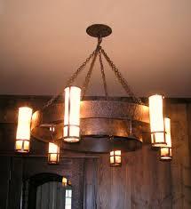 decor wood wagon wheel wagon wheel chandelier