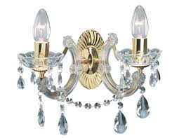 Marie Therese Crystal Chandelier Searchlight Marie Therese 5 Light Chandelier Polished Brass 699