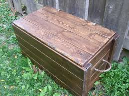 How To Make A Wooden Toy Box Bench by Ana White Large Wood Storage Chest Diy Projects