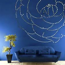 online shopping of home decor wall mirrors home decolarge wall mirror sticker wavy gold design