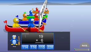 play game online canoe penguins http coolmath games io game