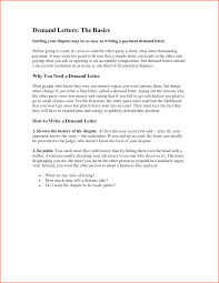 11 demand letter template budget template letter