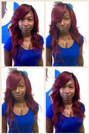 full sew in w no leave out hairstyles by dexter pinterest