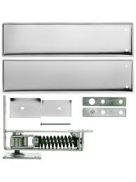 Cafe Swinging Doors Kitchen Standard Duty Swinging Door Floor Hinge With Plated Steel Cover