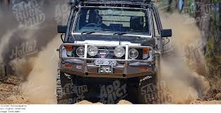 toyota land cruiser arb 3412130 bull bar arb with winch mount winch bar protection