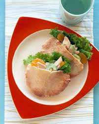mandarin oranges toasted almonds and celery enliven chicken