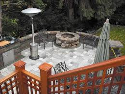 custom outdoor fire pits paver patio with fire pit custom paver patio grill and fire pit