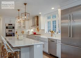 white kitchen cabinets with gold pulls white shaker kitchen with gold accents norfolk kitchen bath