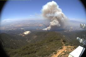 Wildfire Casino On Rancho by Whittier Fire Near Cachuma Lake Burns 5 400 Acres Ksby Com San