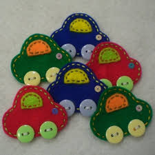 handmade cars felt applique colors colors cars and
