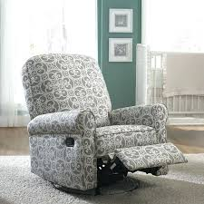 Padded Rocking Chairs For Nursery Fabric Rocking Chairs Living Room Furniture The Grey And