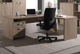 matelpro bureau bureau d angle contemporain coloris chêne leonia i bureau d angle